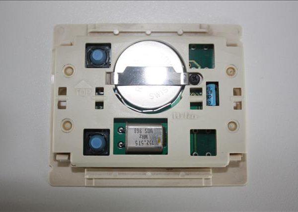 Niko Easywave 05-302 RF Systeem wandzender 2 contacten-0