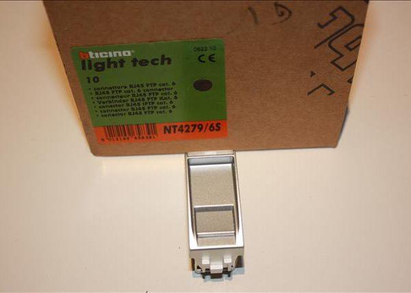 Bticino Light Tech rj45 connector cat 6 1module breed-0