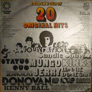 Various – Golden Hour Of 20 Original Hits - Vol. 2-0
