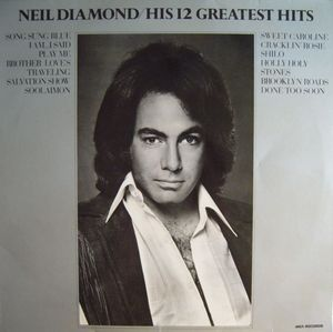Neil Diamond – His 12 Greatest Hits-0