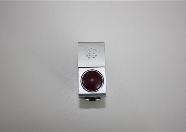 Bticino Light Tech drukknop met voorziening voor lampje-0