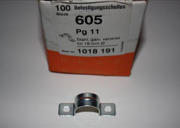 OBO Beugel met 2 bevestigingspunten 19mm staal-0