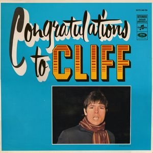 Cliff Richard – Congratulations To Cliff -0