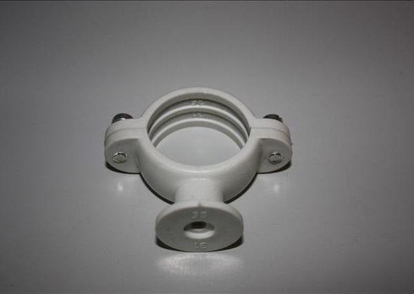 Beugel voor buis 31-35 mm diameter PVC-0