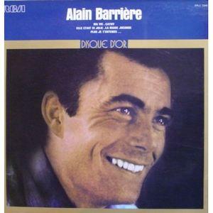 Alain Barrière – Disque D'Or-0