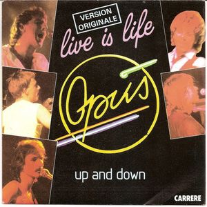 Opus – Live Is Life / Up And Down-0