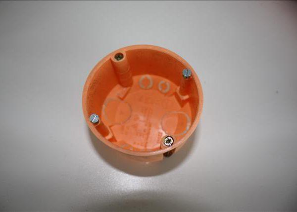 Blass holle wand inbouwdoos 45mm diep, boorgat 68mm-0