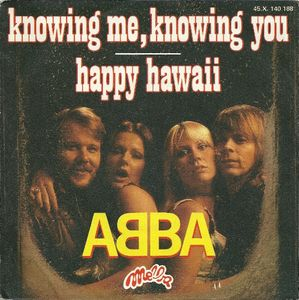 ABBA – Knowing Me, Knowing You / Happy Hawaii-0
