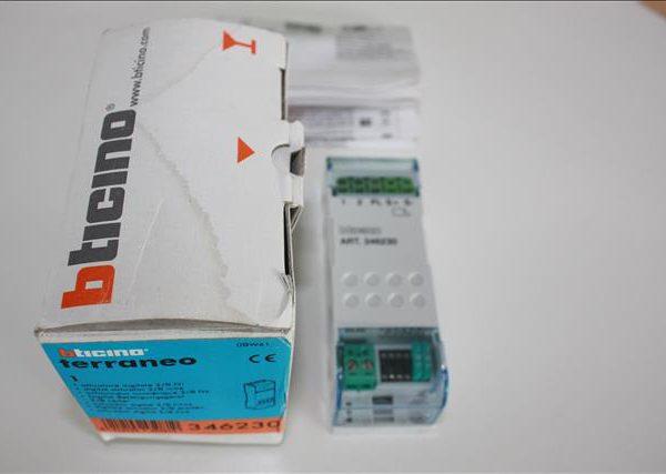 Bticino Terraneo relais digitaal voor bijkomend deurslot-0