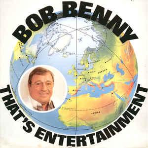 Bob Benny – That's Entertainment met handtekening Bob Benny-0