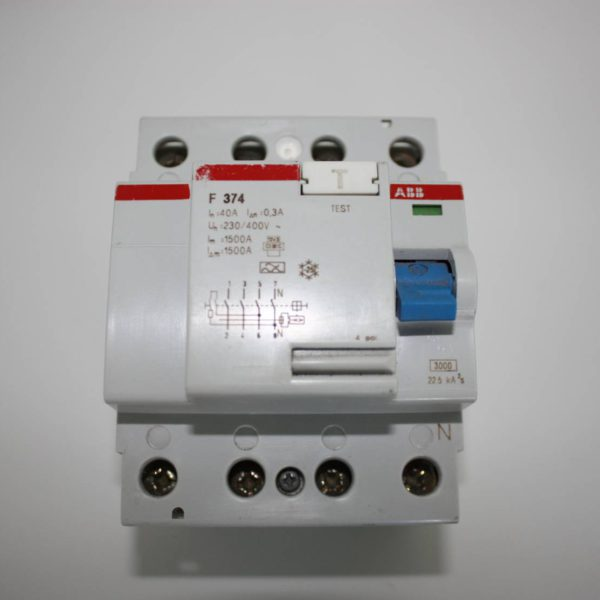 ABB Differentieel 40A 4polig 300mA-0