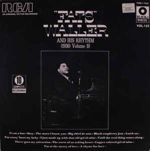 Fats Waller And His Rhythm – (1936) Volume 10 -0