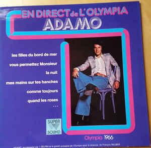 Adamo – En Direct De L'Olympia-0