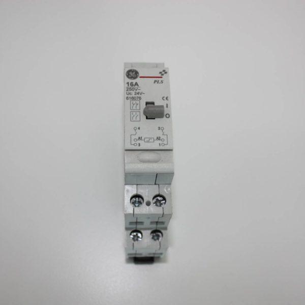 General Electric impulsschakelaar 2xNO 16A 24V-0