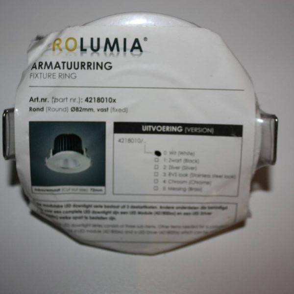 Prolumia Armatuurring RVS Stainless steel look 82mm vast-21394