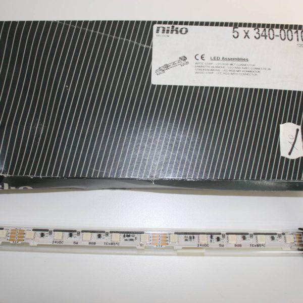 NIKO witte strip Led RGB met connector-0