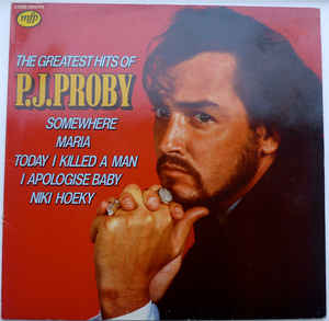 P.J. Proby ‎– The Greatest Hits Of P.J. Proby -0