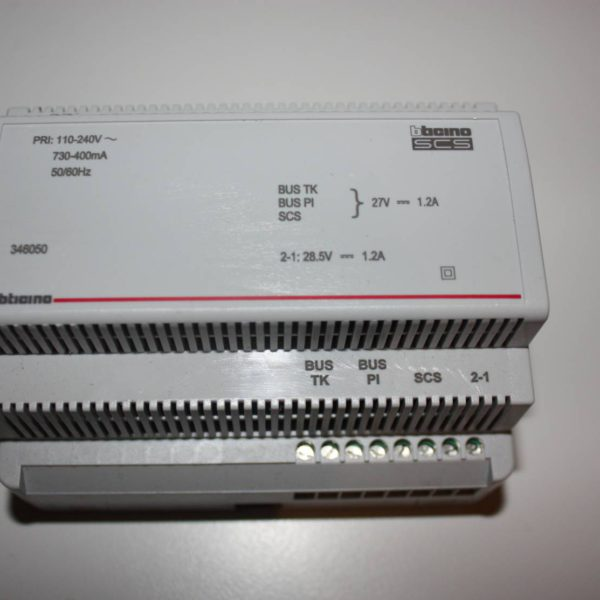 Bticino MyHome SCS voeding 2-draads 6din 1200mA-0