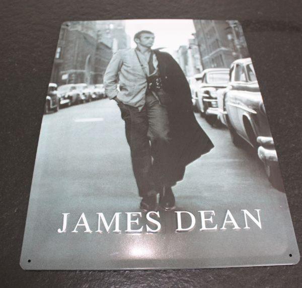 Decoratie James Dean Metaal 39x29cm-0