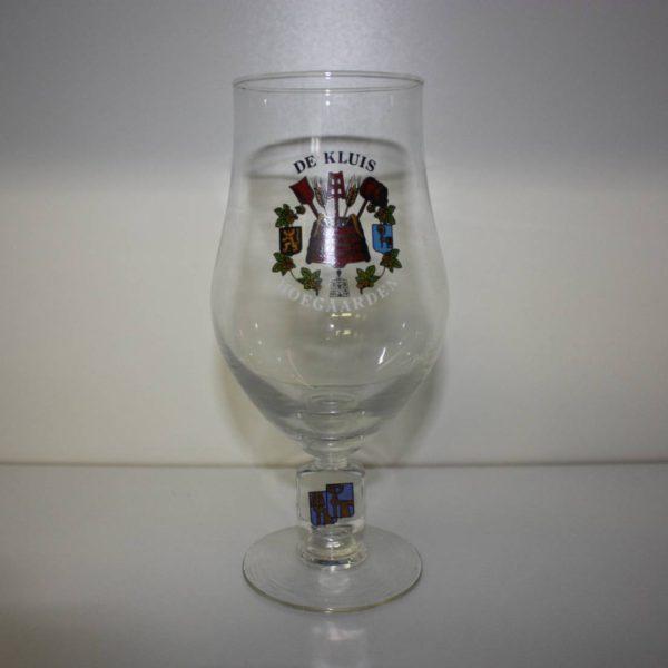 De Kluis Hoegaarden glas op voet 25cl-0