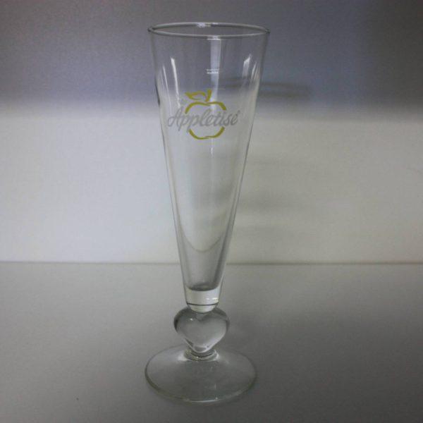 Appletise glas op voet 15cl-0