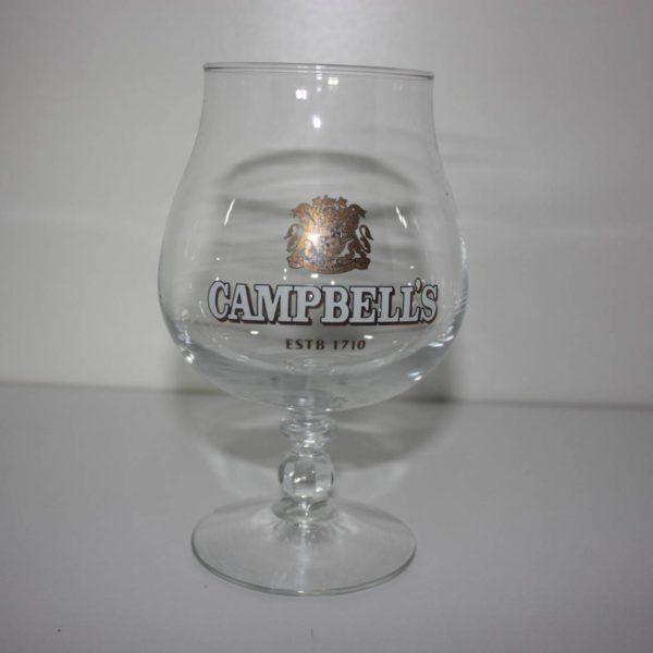 Campbell glas op voet 33cl-0