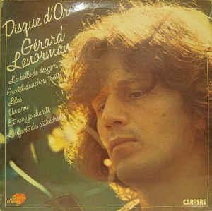 Gérard Lenorman – Disque D'Or -0