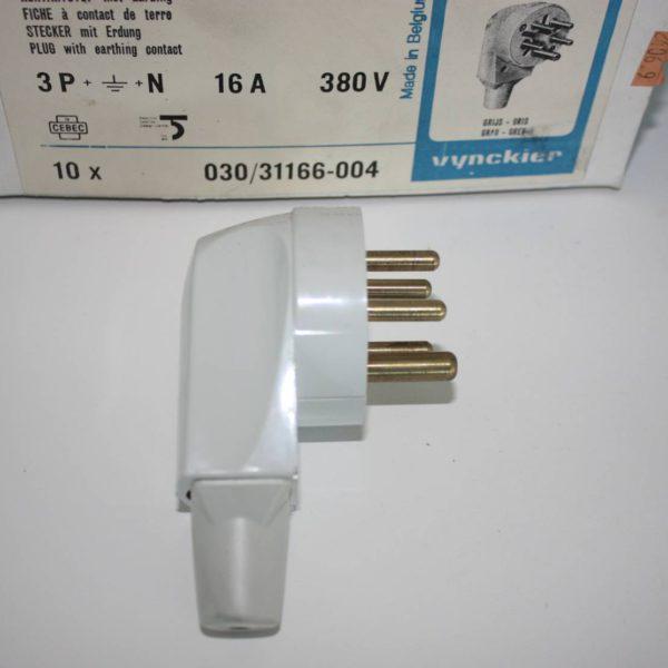 Vynckier stekker met aarding 3P + N 16A 380V -0