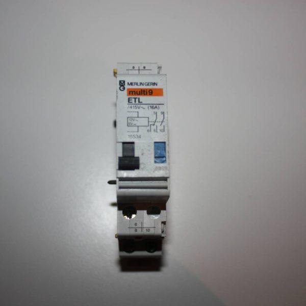 Merlin Gerin teleruptor uitbreiding - spoel 12 V 50/60Hz - 1 NO + 1 NO/NC 16A-0