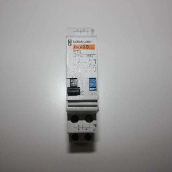 Merlin Gerin teleruptor uitbreiding - spoel 127V wissel/ 48V gelijk 50/60Hz - 1 NO + 1 NO/NC 16A-0