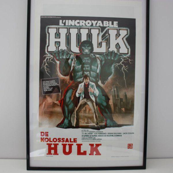 """Filmposter """"De kolossale Hulk"""" van Kenneth Johnson uit 1978 55cmx37cm-0"""